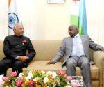 Ambouli (Djibouti): President Kovind meets Djibouti PM