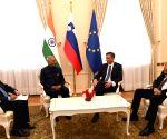 Ram Nath Kovind meets Slovenia President