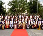 Rishikesh (Uttarakhand): President Kovind at the first convocation of AIIMS, Rishikesh
