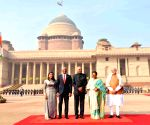 Maldivian President Ibrahim Mohamed Solih accorded ceremonial reception