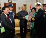 Armed Forces Flag Day - President Kovind, Brig. M. H. Rizvi