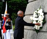 President Kovind lays wreath at Rizal Park