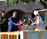 Mahatma Gandhi Birth Anniversary - President pays homage