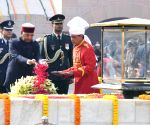 Mahatma Gandhi's death anniversary - President Kovind pays tributes
