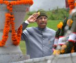 President Kovind pays tribute to Kargil martyrs