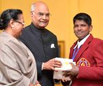 President Kovind at National Bravery Awards-2017