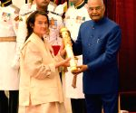 President Kovind presents Padma Awards - Friederike Irina Bruning