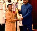 President Kovind presents Padma Awards - Fayaz Ahmad Jan