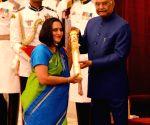 President Kovind presents Padma Awards - Sharada Srinivasan