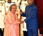 President Kovind presents Padma Awards - Swapan Chaudhuri