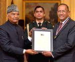 President Kovind presents International Gandhi Awards for Leprosy