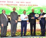 President Kovind, Jitendra Singh at Vigilance Awareness Week programme