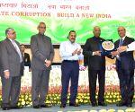 President Kovind, Jitendra Singh at Vigilance Awareness Week programme