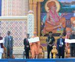 Gondal (Gujarat): President Kovind visits Akshar Deri shrine