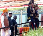 2019 Republic Day Parade - President Kovind, South African President