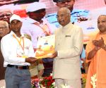 President Kovind during a programme organised by Stata Government and NHAI