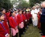 President Kovind visits Akshaya Patra foundation