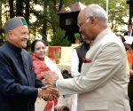 Mashobra (Himachal): President Kovind during 'At Home' reception