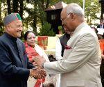 Mashobra (Himachal): President Kovind during 'At Home' reception