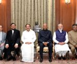 President Ram Nath Kovind administered the oath of office of Chief Justice of India to Justice Sharad Arvind Bobde