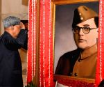 'President unveiled Netaji's painting and not of any actor'