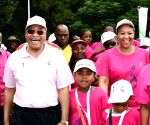 SOUTH AFRICA-PRETORIA-WARRIORS WALK FOR CANCER-ZUMA