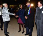 Pretoria (South Africa): Modi leaves for Durban