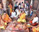 Mahayagya' performed for early monsoon rains at Chamundeshwari temple