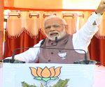 Modi mocks Congress' pledge to protect cows in MP