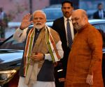 PM Modi, Amit Shah at BJP's Central Election Committee meeting
