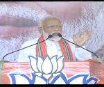 PM Modi at a public rally in West Bengal