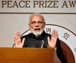 Seoul (South Korea): PM Modi receives Seoul Peace Prize programme
