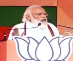 PM Modi holds election rally in Muzaffarpur ahead of remaining 2 phases of Bihar Assembly polls