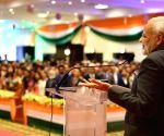 Kigali (Rwanda): PM Modi accorded ceremonial reception by the Indian Community