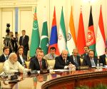Tashkent (Uzbekistan): SCO summit - extended meeting - PM Modi