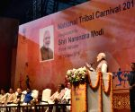Modi at National Tribal Carnival-2016 - inauguration