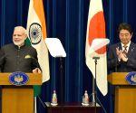 PM Modi, Japan's PM Shinzo Abe - joint press conference