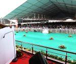 Sindri (Jharkhand): Modi lays the foundation stone of several development projects