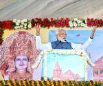 PM Modi inaugurates Shikshan Bhavan, Vidyarthi Bhavan in Gujarat