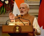 Modi-Dahal - joint press conference