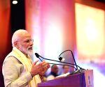 Modi addresses Pravasi Bhartiya representatives