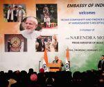 Seoul (South Korea): Modi meets Indian community