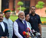 Prime Minister Narendra Modi at Parliament House