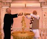 Modi-Turnbull at the Akshardham