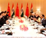 India-China delegation level talks