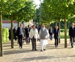: Berlin: Modi-Merkel meet at Schloss Meseberg