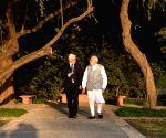 PM Modi, German President Steinmeier at Sunder Nursery