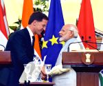 Modi, Dutch PM at the Joint Press Statement