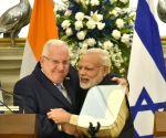 Joint press briefing - PM Modi, Israel President Rivlin