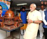 Modi visits Chaitya Bhoomi